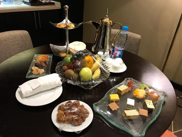 Pullman ZamZam Madinah Hotel Dessert Tray