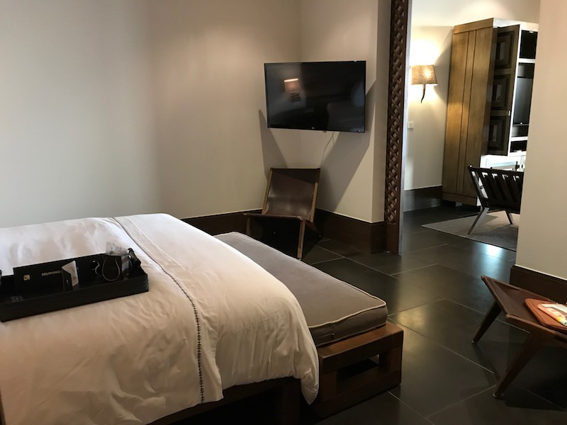 Master Suite Bedroom at Nizuc Resort Cancun