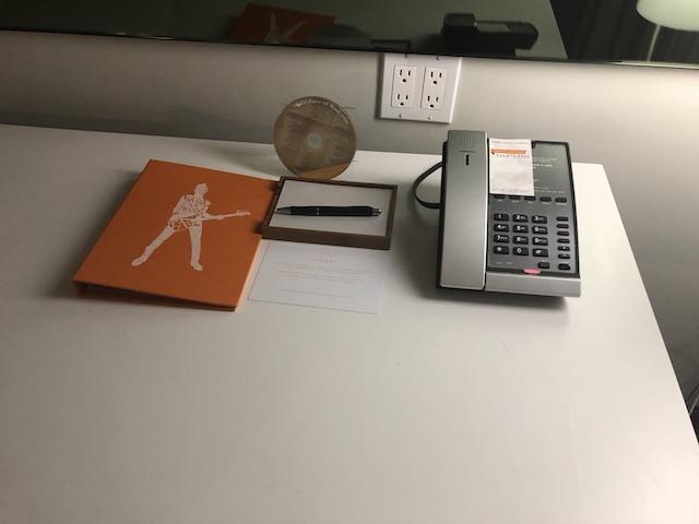 Andaz West Hollywood Queen Room Desk