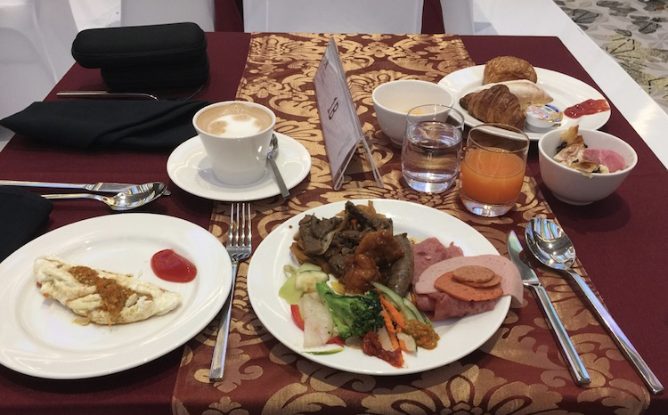 Marriott Yogyakarta Breakfast