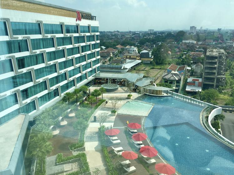 Marriott Yogyakarta Pool