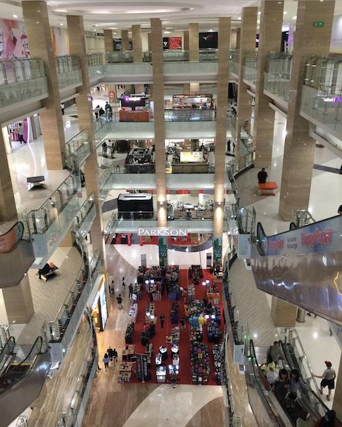 Shopping Mall next to Marriott Yogyakarta