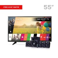 lg 55-inch satellite tv LG 55-Inch LED Satellite TV + F&D Home Theater lg 55