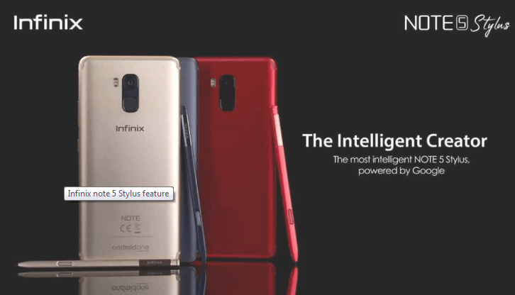 Infinix Note 5 Stylus infinix note 5 stylus Infinix Note 5 stylus 4GB/32GB Capture note5stylus