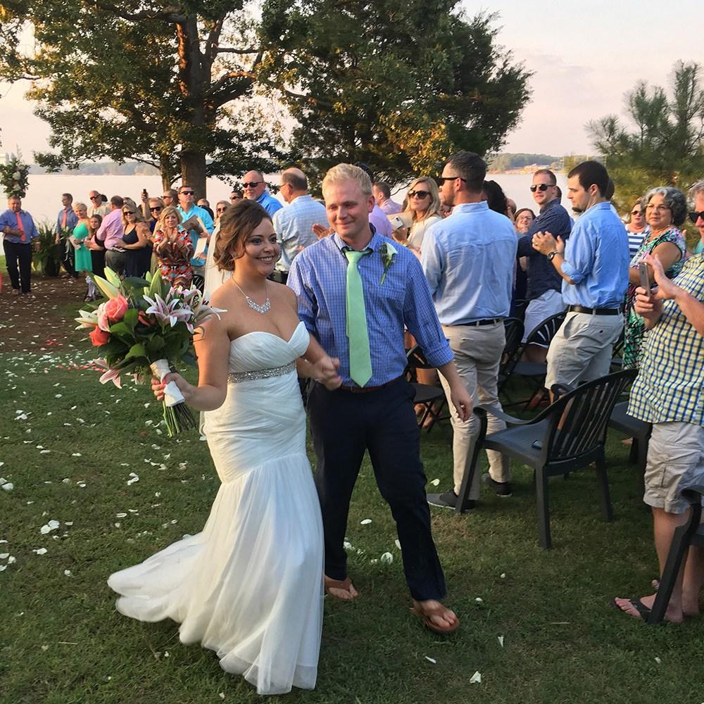Ben & Kate's Wedding at The Pointe at Lake Gaston