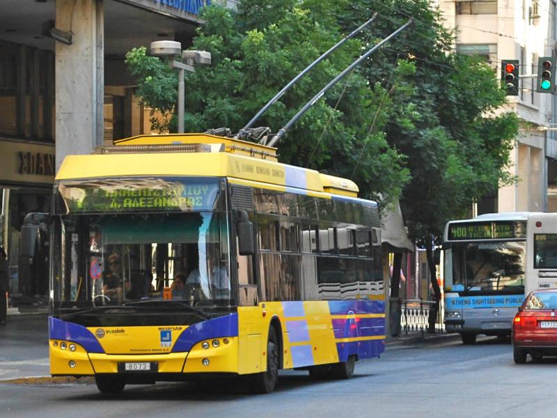 Athens trolleybus