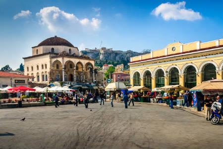 Monastiraki square-Athens