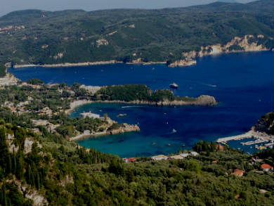 Corfu Beaches-Corfu Island