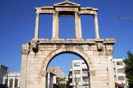 Hadrian's Arch Greece