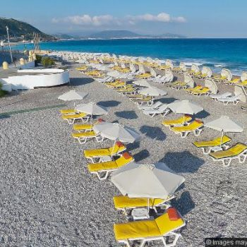 Akti Mouli Beach Rhodes Beaches