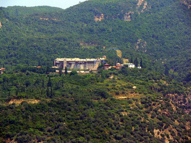 The Monastery of Xiropotamou
