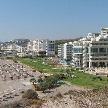 Faliraki Beach Rhodes Beaches