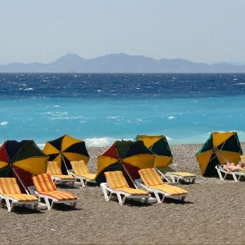 Ixia Beach Rhodes Beaches