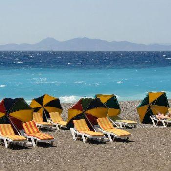 Ixia Beach Rhodes Beaches