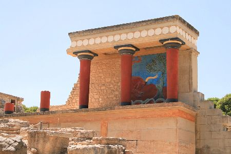 Knossos Palace & Archaeological Site, Crete island, Greece
