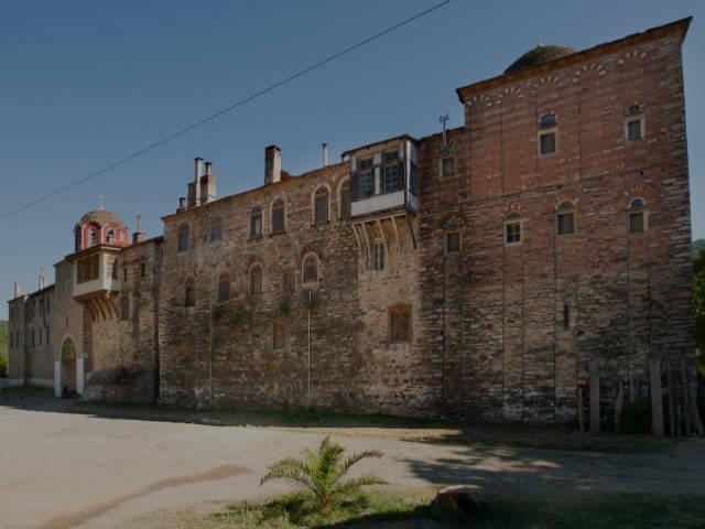 Konstamonitou monastery Athos