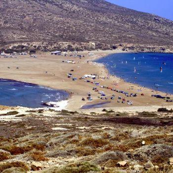 Prassonissi Beach Rhodes Beaches