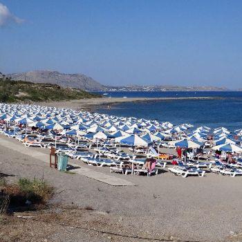 Kiotari Beach Rhodes Beaches