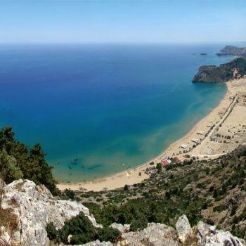 Tsambika Beach Rhodes Beaches