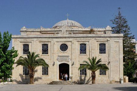 The church of Saint Titus in Heraklion