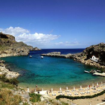 St.Pauls Bay Lindos Rhodes Beaches