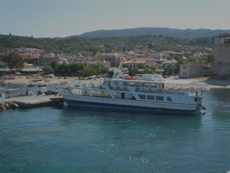 Ouranoupolis port