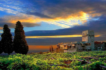 Mount Athos - Άγιον Όρος - Planina Athos - Света Гора - Monte Athos - 阿索斯山 - Mont Athos - Athos Dağı - माउंट एथोस - Гора Афон - Berg Athos - アトス山