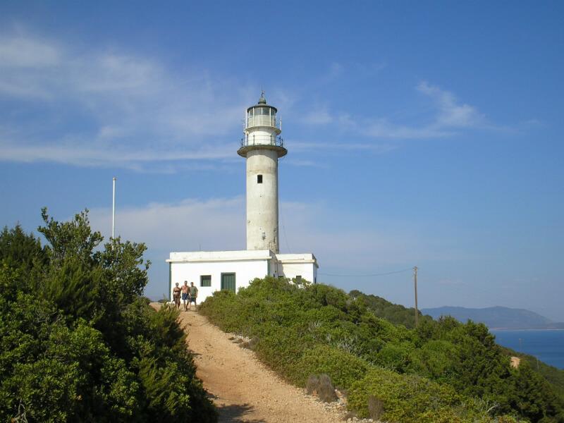 Lefkada lighthouse - Lighthouse Doukato (Lefkada) - ΦΑΡΟΣ ΔΟΥΚΑΤΟ