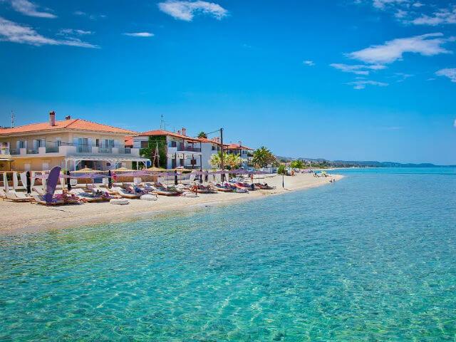Chanioti Beach Kassandra Halkidiki