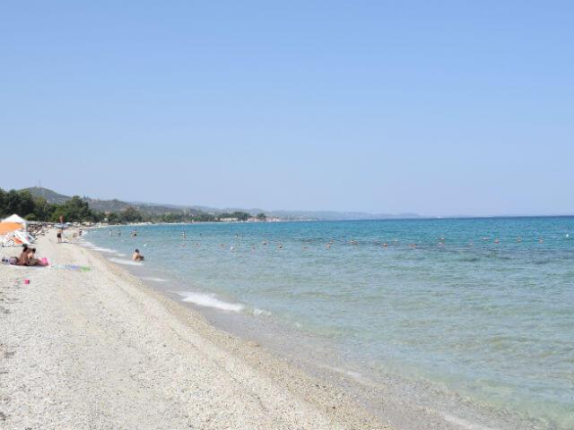 Pefkohori Beach Kassandra Halkidiki