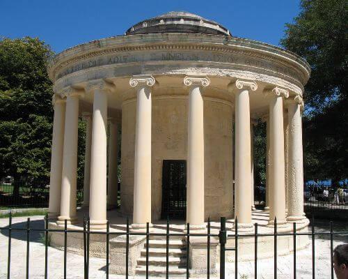 Corfu temple