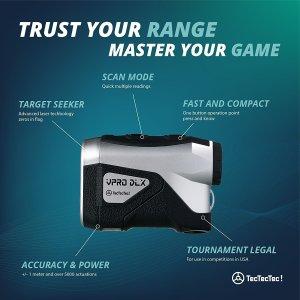 TecTecTec VPRO DLX Golf Laser Rangefinder 1