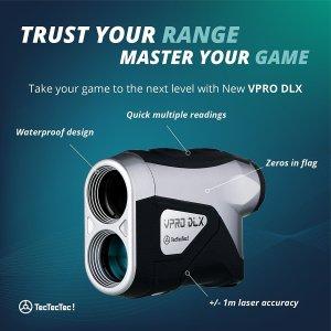 TecTecTec VPRO DLX Golf Laser Rangefinder Design
