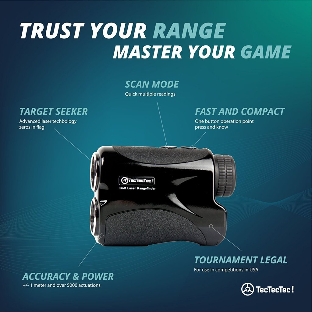 TecTecTec VPRO500 Golf Rangefinder Features