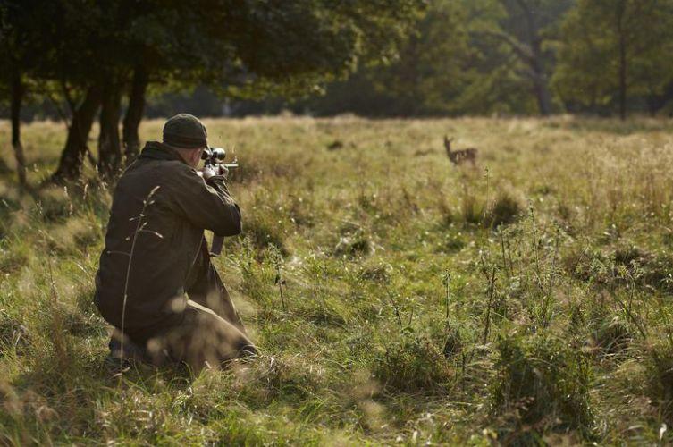 Man Hunting deer