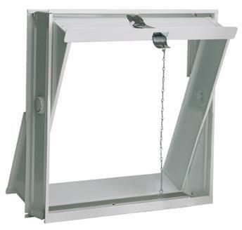 ouverture paroi brique verre chassis