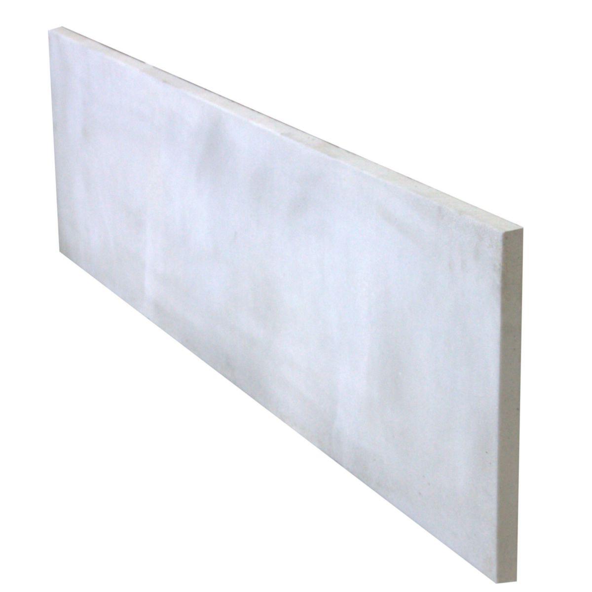 Alkern Plaque De Cloture Pleine Beton Arme 192x50x3 5 Cm Point P