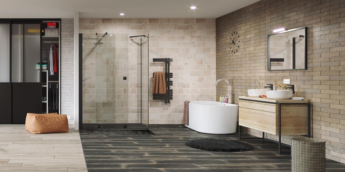 salle de bain industriel point p