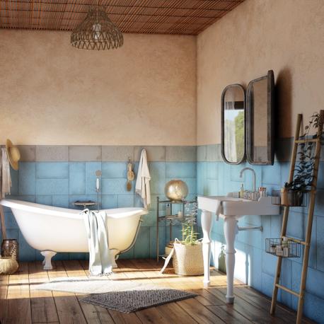 salle de bain ethnique point p