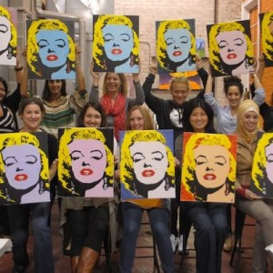 Pittsburgh woman comes home, brings painting with a twist ...