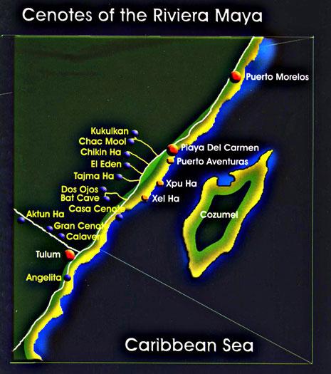 Cenote Mexico: Diving the Cenote Cancun, Cenotes Riviera Maya, Cenotes Tulum