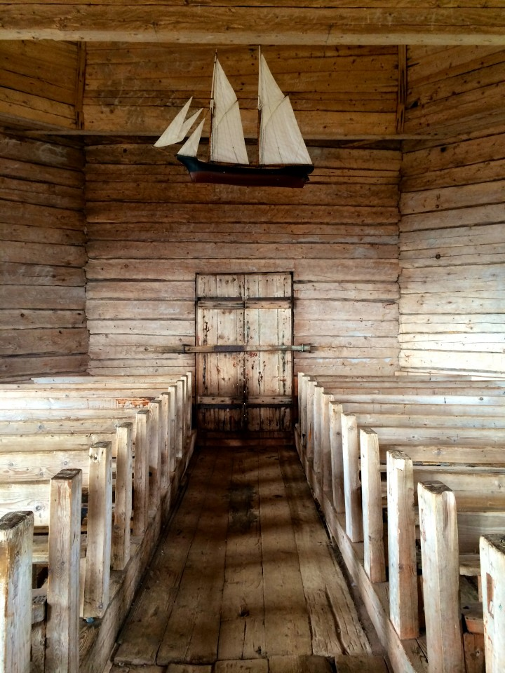The parsonage at Maakalla Island, Finland
