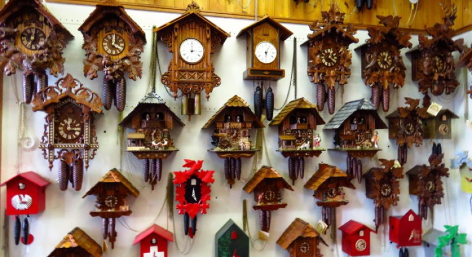 Sounds from the Black Forest, Germany: Cuckoo Clocks