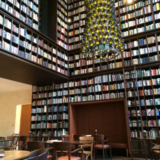 Swanky Library Hotel - the B2 Hotel + Spa Zurich, Switzerland