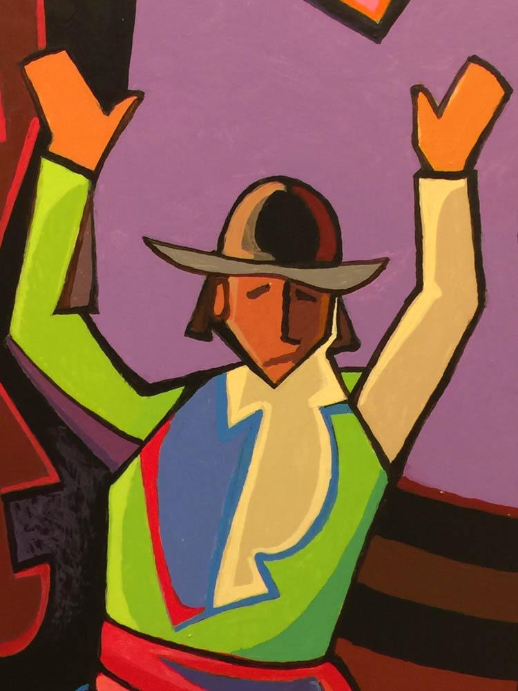 Missoula Art Museum, cowboy painting