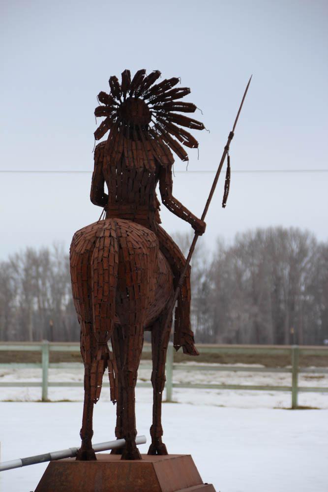 Indian Statue, Montana
