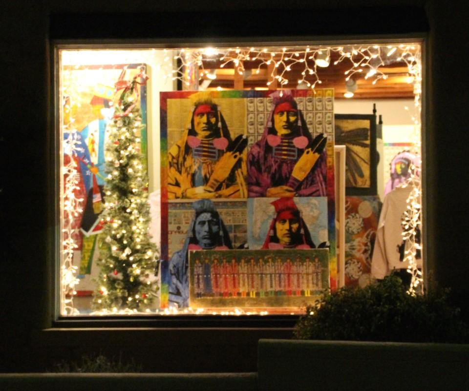Santa Fe Plaza, Things to do in Santa Fe, Santa Fe Art, adobe, native american art