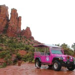 Going Off Road thru Sedona, AZ with Pink Jeep Tours