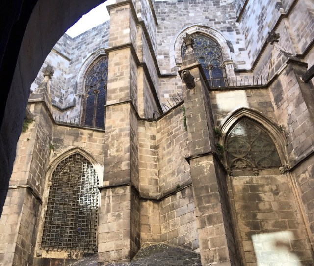 View Larger Image Where To Go In Barcelona Gothic Quarter Barcelona Spain Catedral De Barcelona