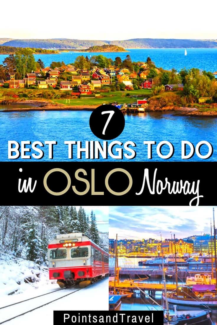 The best things to do in Oslo, Norway. Whether you are visiting Oslo in summer or winter, here are the must sees and do in Oslo. The Ultimate Oslo itinerary to explore Norway's capital #oslo #norway #scandinavia | What to do in Oslo | Where to stay in Oslo | Oslo Itinerary | Weekend in Oslo | Oslo Weekend | Norway Itinerary | Norway Travel Tips | #oslo #Norway #vacation